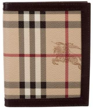 Burberry Haymarket Check Notebook