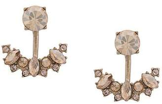 Marchesa crystal pendant earings