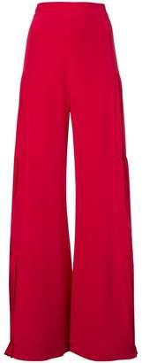 Alexis pleat detail trousers