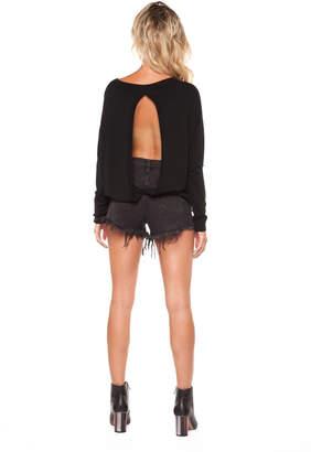 Dex Open Back Sweater