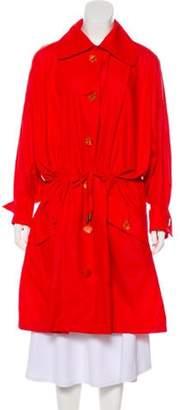 Guy Laroche Knee-Length Trench Coat Knee-Length Trench Coat