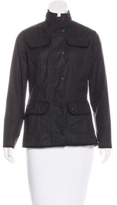 Barbour Coated Utility Jacket $150 thestylecure.com