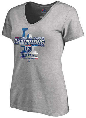 Majestic Women Los Angeles Dodgers League Champ T-Shirt