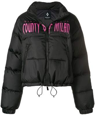Marcelo Burlon County of Milan logo padded jacket
