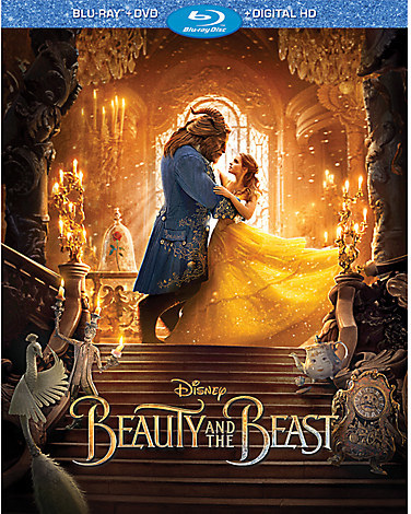 Beauty and the Beast - Live Action Film - Blu-ray Combo Pack - Pre-Order