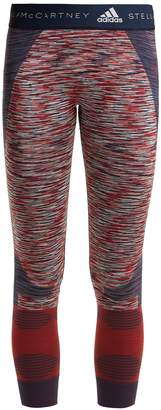 adidas by Stella McCartney Yoga seamless space-dye performance leggings