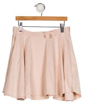 Christian Dior Girls' Knit Flare Skirt