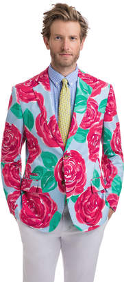 Vineyard Vines Run For The Roses Printed Blazer