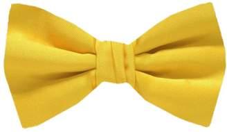 Buy Your Ties Solid Color Self Tie Bow Tie