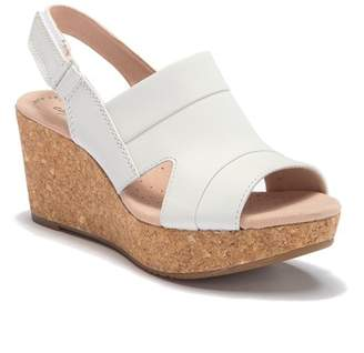 09b5d57773af Clarks Platform Wedge Women s Sandals - ShopStyle