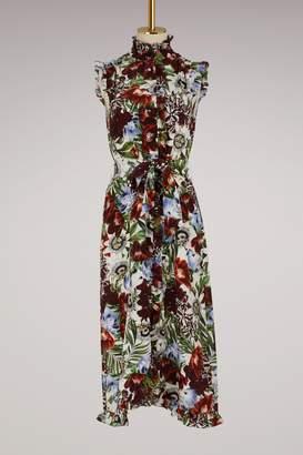 Erdem Sebla short sleeves dress