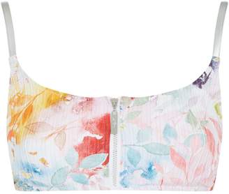 Gottex Floral Bikini Top