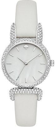 Pave bunny mini eldridge watch $225 thestylecure.com