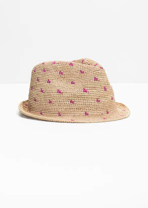 And other stories Woven Straw Fedora