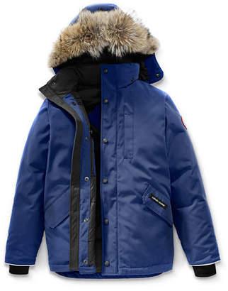 Canada Goose Boys' Logan Parka with Fur Trim, Size XS-XL $575 thestylecure.com