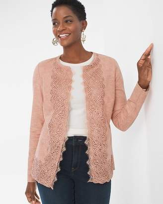Perforated Sueded Jacket