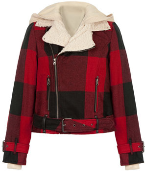 buffalo plaid Mt. Tremper jacket