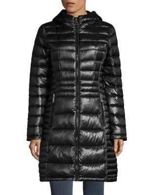Calvin Klein THE COAT EDIT Walker Hooded Packable Down Jacket