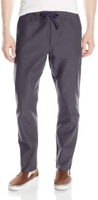 Obey Men's Traveler Relaxed Fit Slub Twill Pant