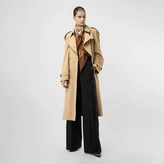 Burberry Wool High-waisted Trousers