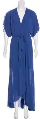 Reformation Maxi Warp Dress