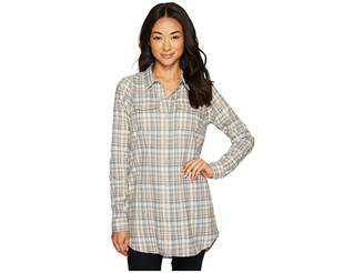 Lightfoot Toad&Co Tunic Women's Long Sleeve Button Up