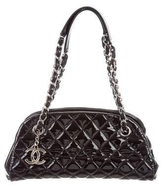 Chanel Small Just Mademoiselle Bowling Bag