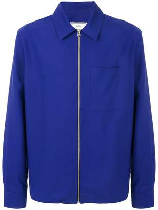 Ami Alexandre Mattiussi zipped over-shirt