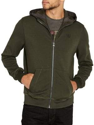Buffalo David Bitton Hooded Fleece Jacket