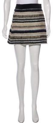 Vena Cava Wrap Skirt Mini