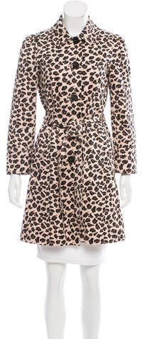 Marc by Marc Jacobs Printed Trench Coat