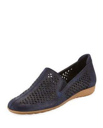 Sesto Meucci Byrna Perforated Calf Leather Comfort Loafer