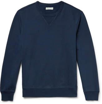 J.Crew Loopback Cotton-Jersey Sweatshirt - Men - Navy