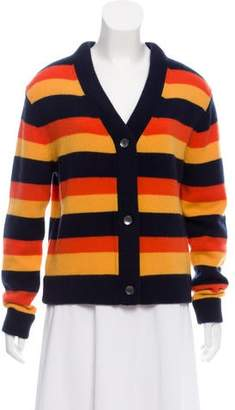 Kule Heavy Cashmere Stripe Cardigan w/ Tags
