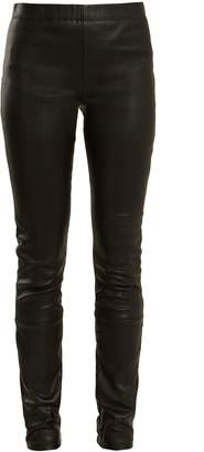 Haider Ackermann Varukers leather leggings