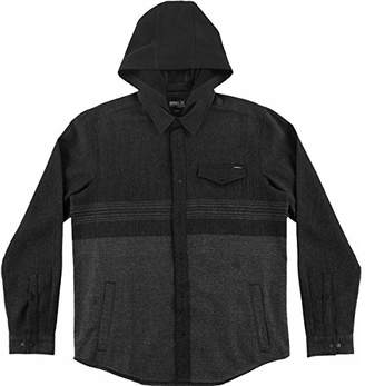 O'Neill Men's Jacinto Hooded Flannel