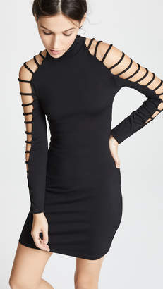 Susana Monaco Cutout Mini Dress