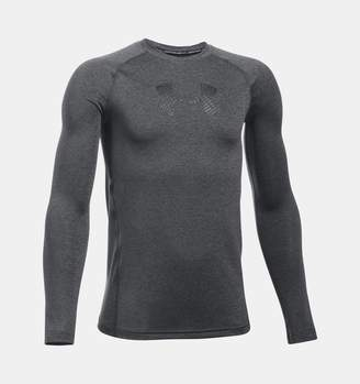 Under Armour Boys' HeatGear Armour Long Sleeve