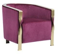 Everly Quinn Barbra Modern Barrel Chair Quinn