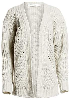 IRO Women's Vesna Chunky Knit Cardigan Sweater
