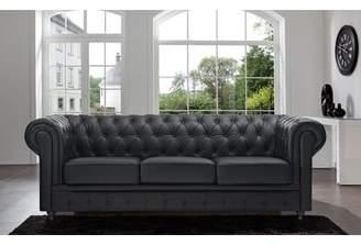 Willa Arlo Interiors Elstone Tufted Back Chesterfield Sofa