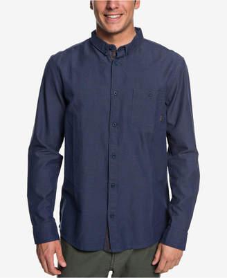Quiksilver Men Waterfall Poplin Shirt