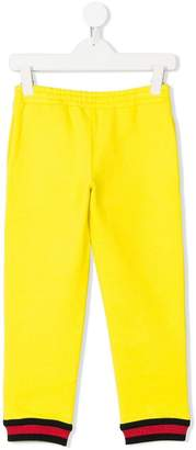 Gucci Kids Web trim track pants