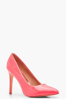boohoo Pointed Toe Court Shoes