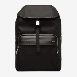 Bally Waro Black, Men's nylon backpack in black