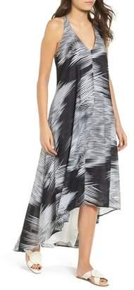 Kenneth Cole New York Racerback Twist High/Low Hem Dress