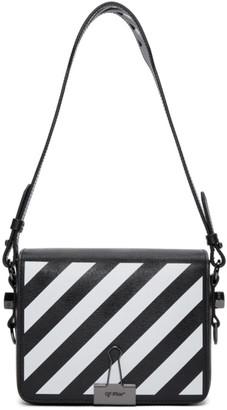 Off-White Black Diagonal Flap Bag