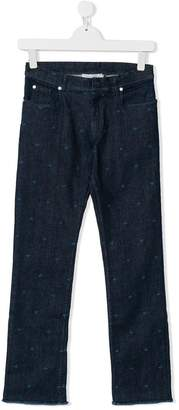 Christian Dior TEEN embroidered jeans
