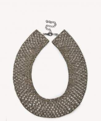 Sole Society Crystal Collar Statement Necklace