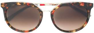 Orlebar Brown x Linda Farrow round-frame sunglasses